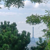 Eiffel Through Trees