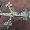 Burial Hatch Latch & Hinge, Trinity Church Cemetery & Mausoleum, NYC