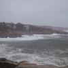Granite Pier: toward north