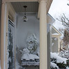 Nor'easter: Front porch from side