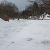 Nor'easter: Payloader plowing Bayridge Lane
