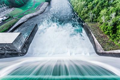 Norris Dam Spillway at Day Break III
