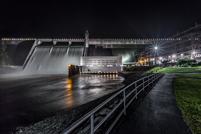 Night at Norris Dam I
