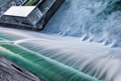 Norris Dam Spillway at Day Break I