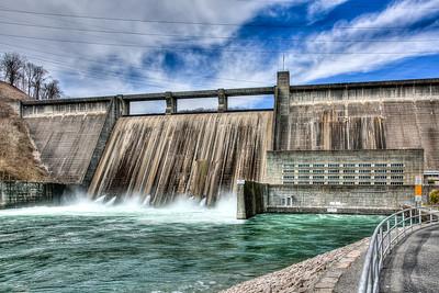 Norris Dam in Spring