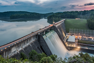 Norris Dam Before Sunrise