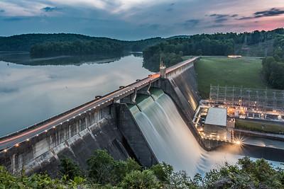 Norris Dam Before Sunrise