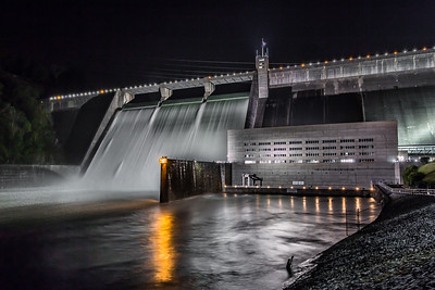 Night at Norris Dam II