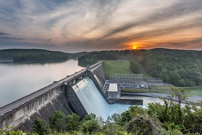 Norris Dam at Sunrise