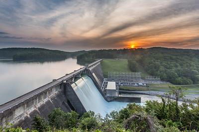 Norris Dam at Sunrise