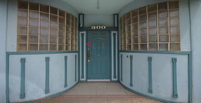 Downtown doorway, Roseville, Ca
