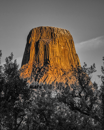 Early Morning at Devils Tower