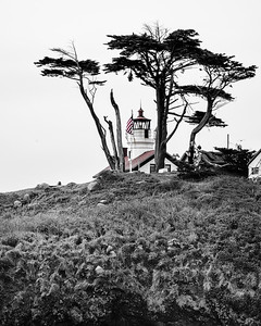 Battery Lighthouse, Selective Color