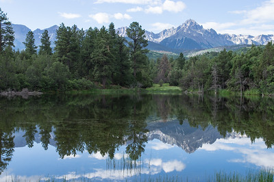 Mt. Sneffels Reflection