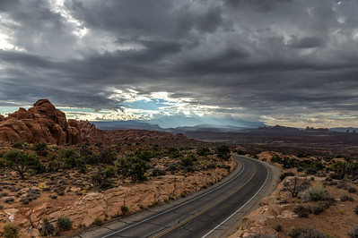 Upcomming Storm in Arches NP