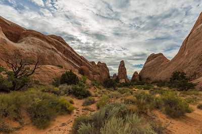 somewhere at Arches NP