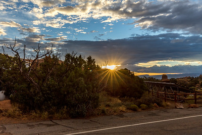 Sunrise at Arches NP