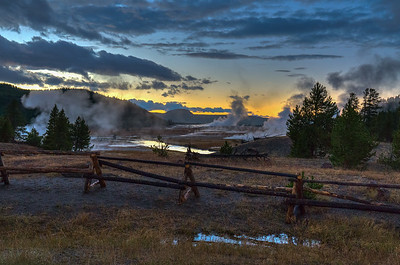 Yellowstone at Night