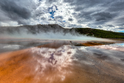 Grand Prismatic Spring - Part III