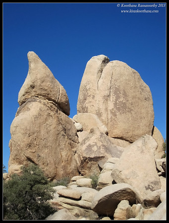 Joker rock at Joshua Tree National Park, Riverside County, California, May 2013