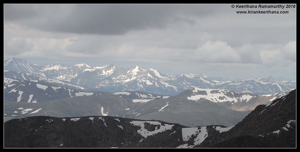 Mount Evans, Colorado, June 2016