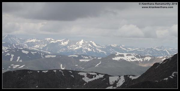 Mount Evans, Colorado, June 2016