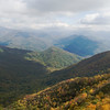 View from Mt Shuckstack, Smoky Mtns, NC<br /> Oct 2008