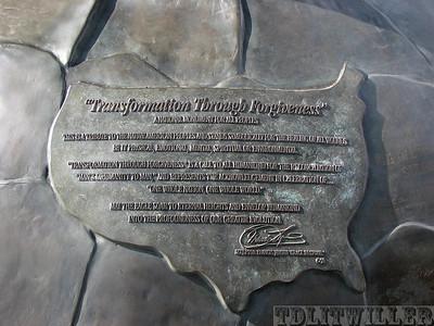 Transformation through Forgiveness data plate