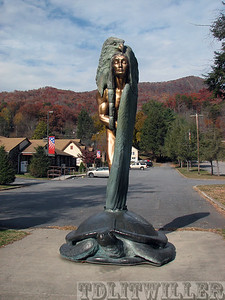 Transformation through Forgiveness statue