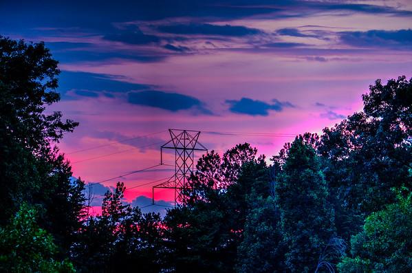 Farmdale Sunset 15-07-12