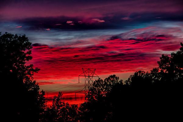 Farmdale Sunset 15-09-16