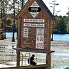 Boat ramp at Rhodes Pond NC Wildlife Resource Commission