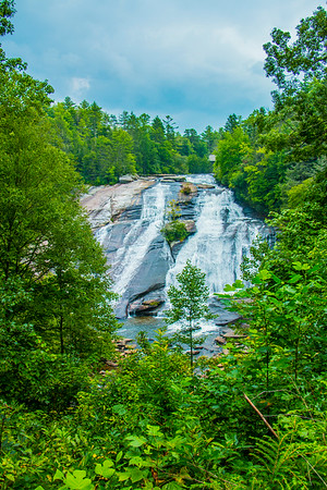 DuPont State Forest Waterfalls 14-08-07
