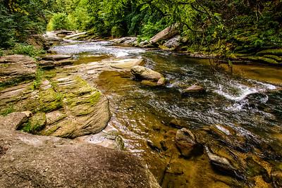 Creek Near Little Switzerland, NC
