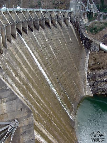 21 March 2007.  Cheoah Dam, North Carolina.