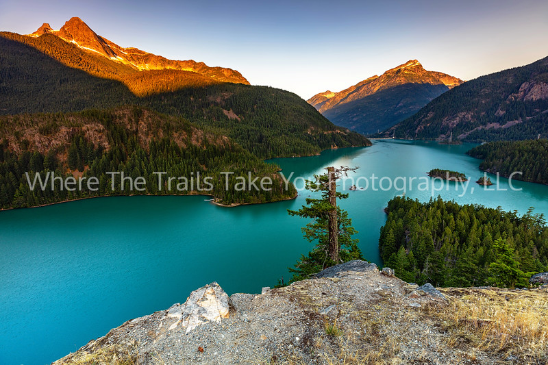 Sunrise Over Diablo Lake