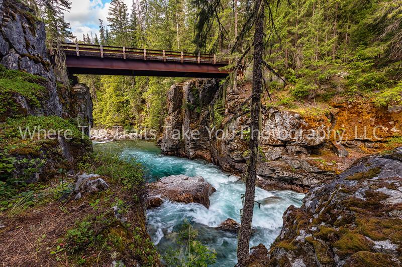 9.  High Bridge And The Stehekin River, North Cascades National Park