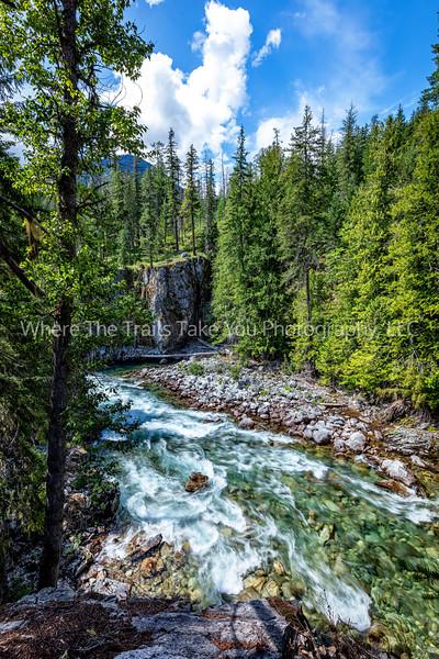 13.  The Stehekin River At High Bridge, North Cascades National Park