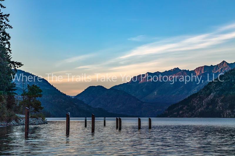 16.  Sunrise Downlake, Stehekin, Lake Chelan National Recreation Area