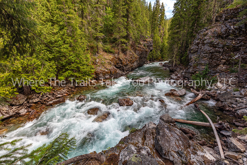 The Stehekin River At High Bridge, North Cascades National Park