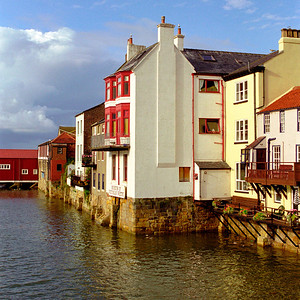 Harbourside houses