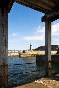 Under the Pier at Whitby