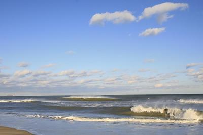 Winter waves, Northend Va. Beach
