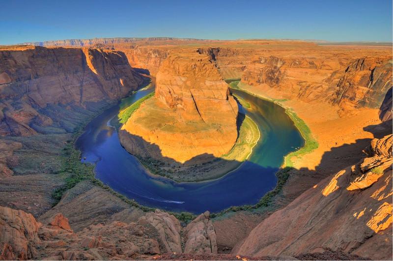Horseshoe Bend, Colorado River, Page, AZ.
