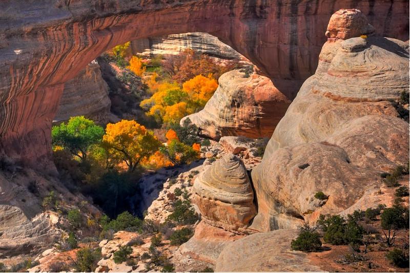 Natural Bridges National Monument, Utah.