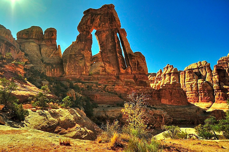 Druid Arch, Canyonlands National Park.