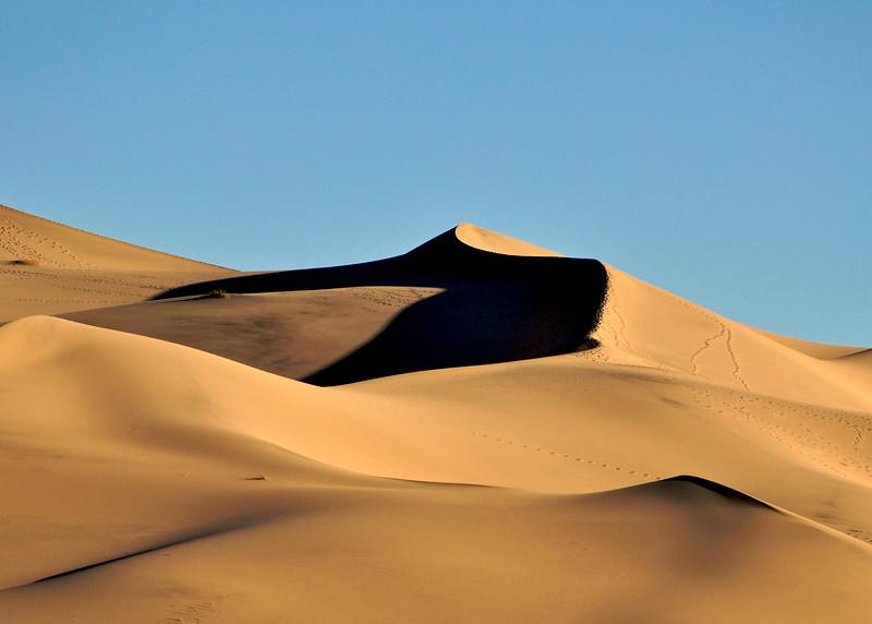 Eureka Dunes, Death Valley National Park.
