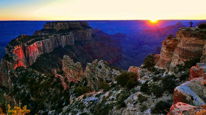 Cape Royal, North Rim, Grand Canyon National Park.