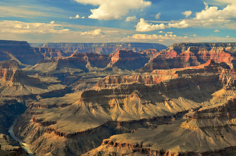 The Abyss, South Rim, Grand Canyon National Park.