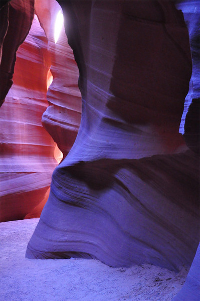 Upper Antelope Slot Canyon, Navajo Nation, Page, AZ